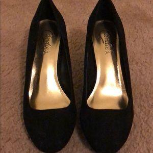 Candies velvet heels